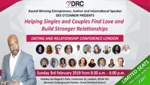Dating and Relationship Conference, Feb, London (1)